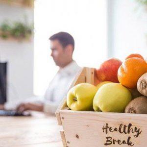 Fruta fresca en el trabajo