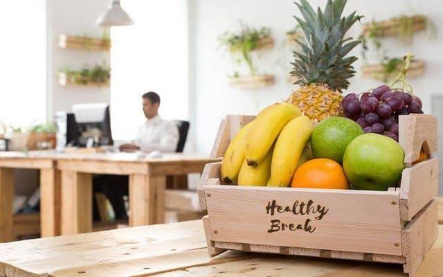 Servicio de fruta en la oficina
