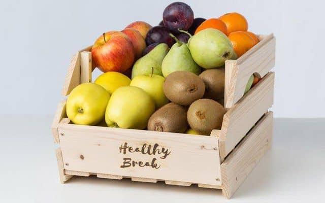 Fruta para la oficina